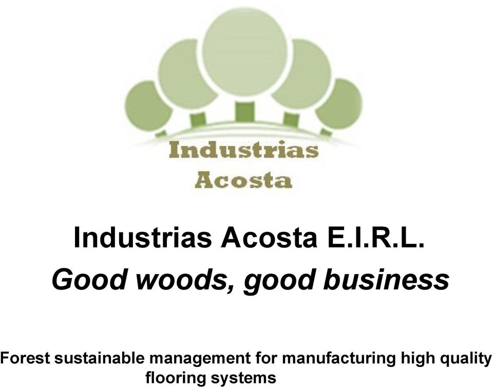 sustainable management for