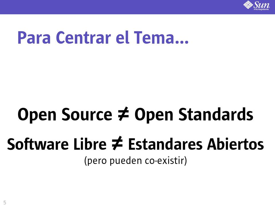 Standards Software Libre