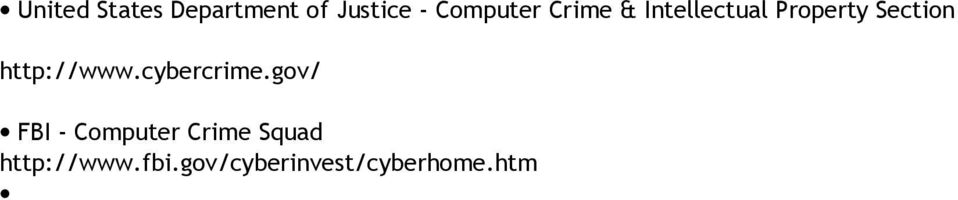 Section http://www.cybercrime.