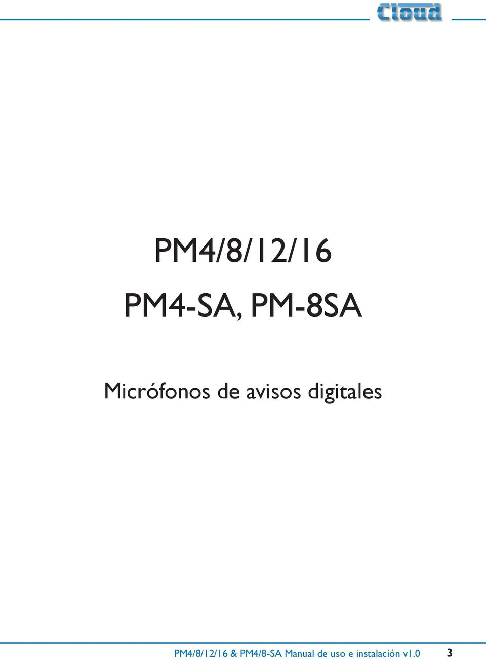 digitales PM4/8/12/16 &