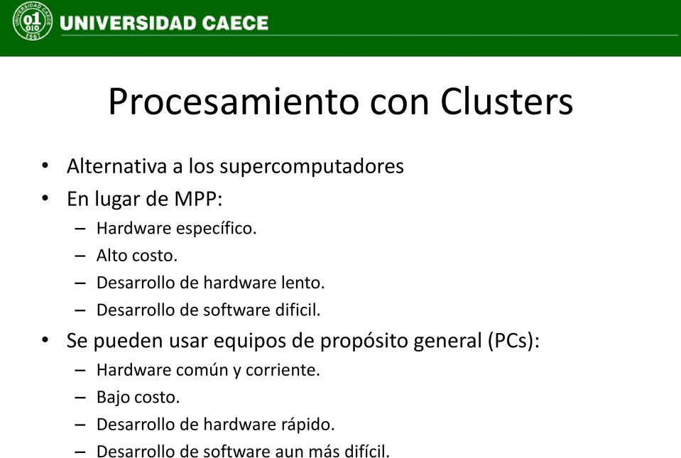 Desarrollo de software dificil.