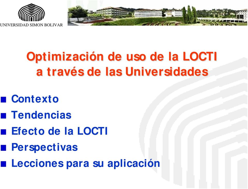 Universidades Tendencias Efecto de