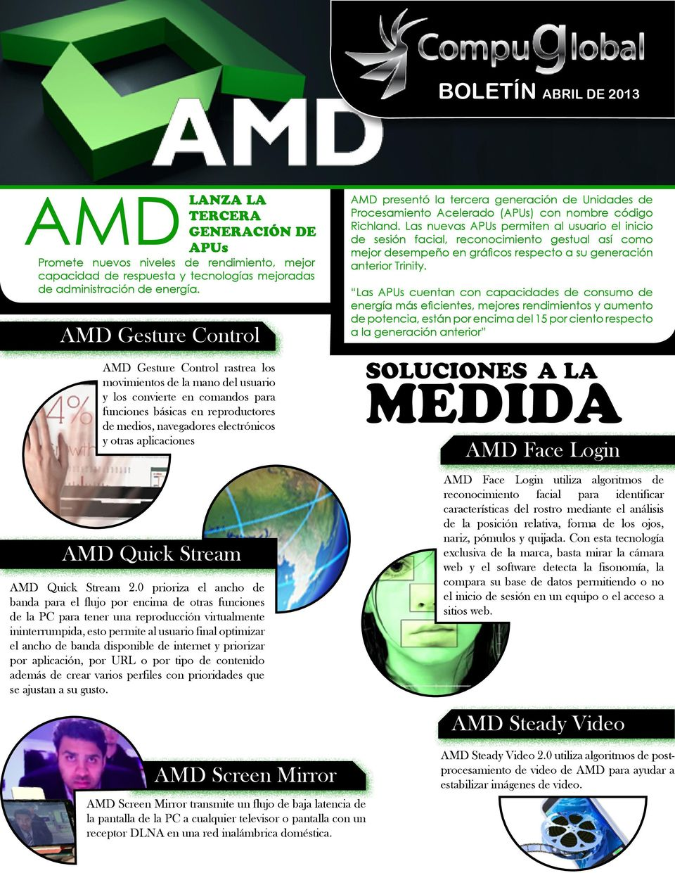 aplicaciones AMD Quick Stream AMD Quick Stream 2.