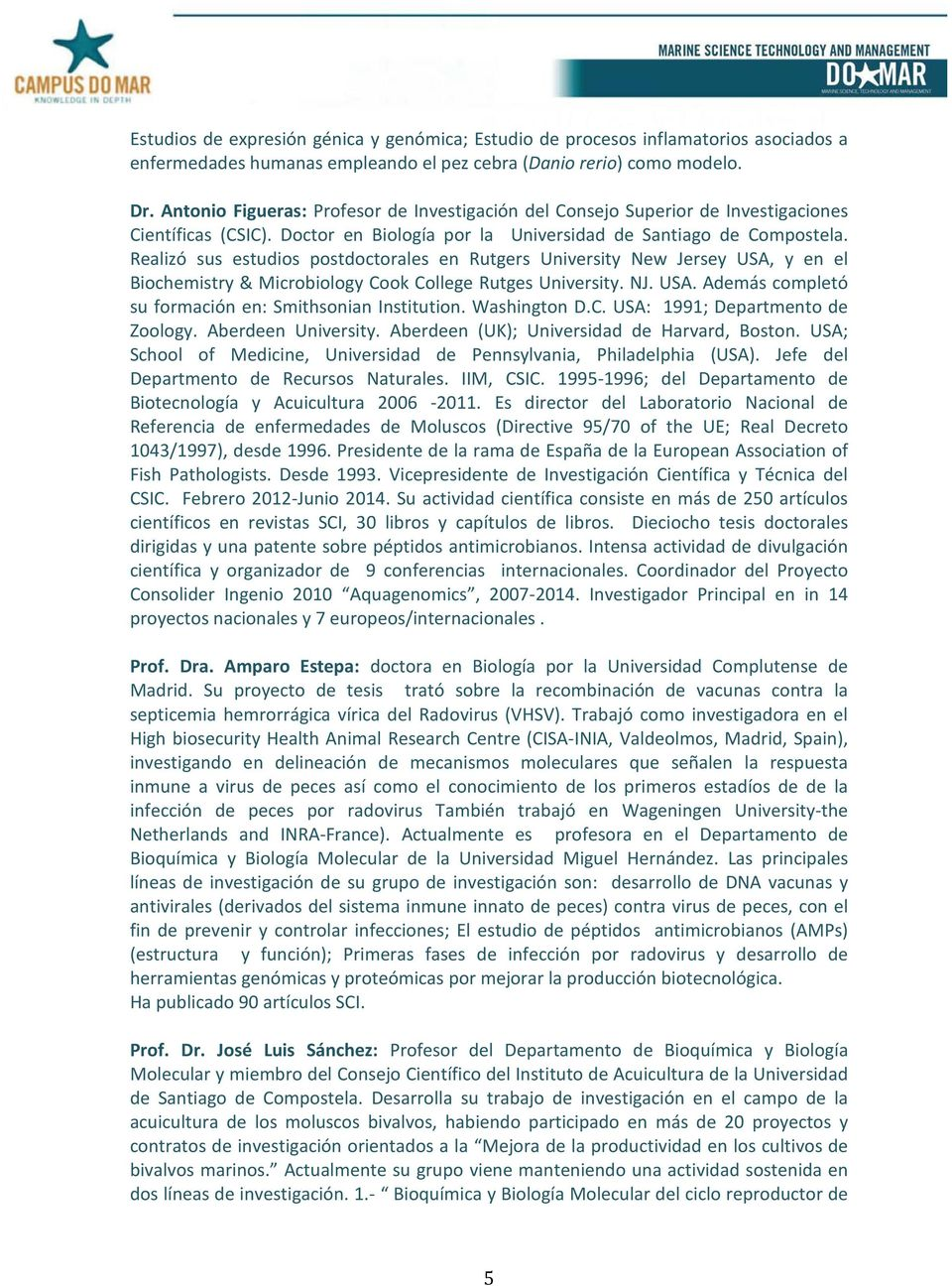 CFA 1: ACUICULTURA: TRENDS IN RESEARCH IN AQUACULTURE - PDF