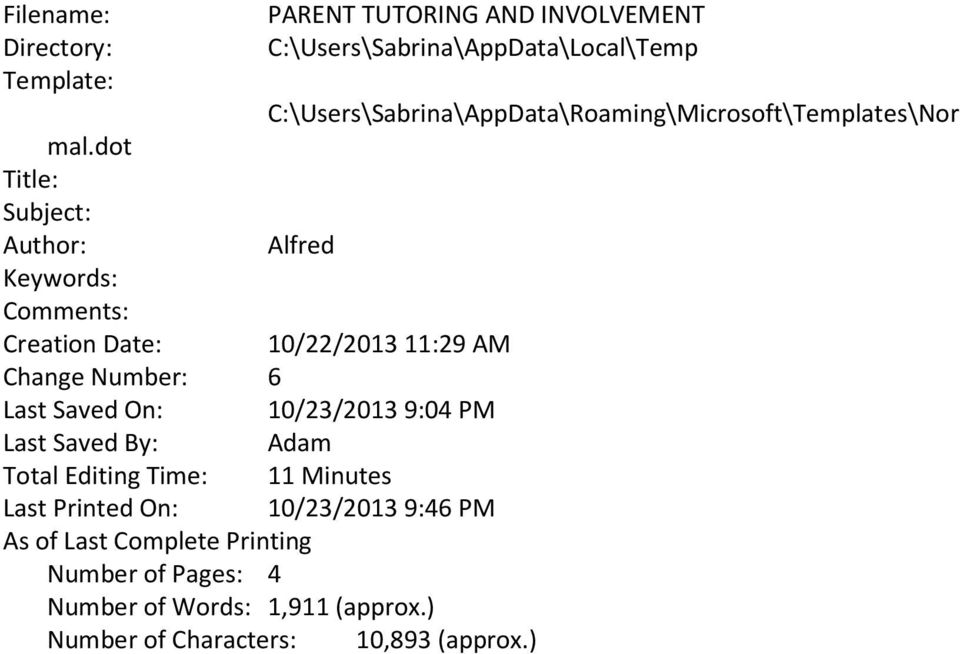 appdata roaming microsoft templates - involved parents the hidden resource in their children 39 s