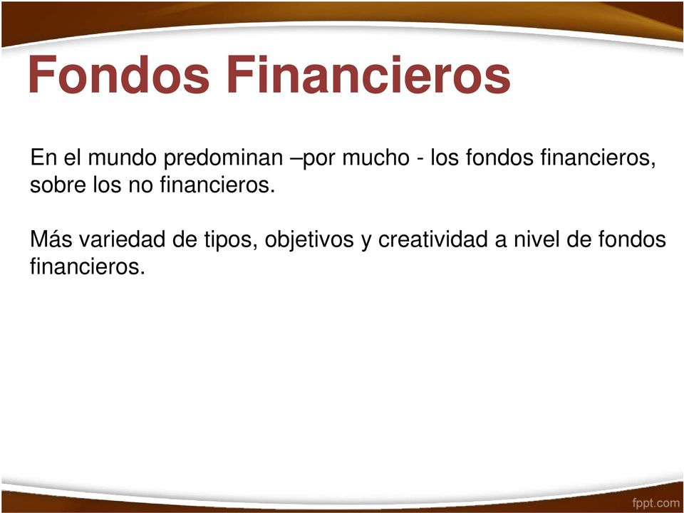 financieros.