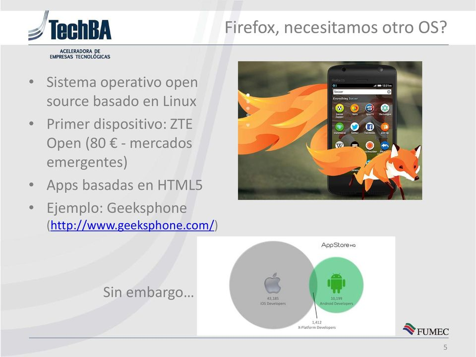 dispositivo: ZTE Open (80 - mercados emergentes) Apps