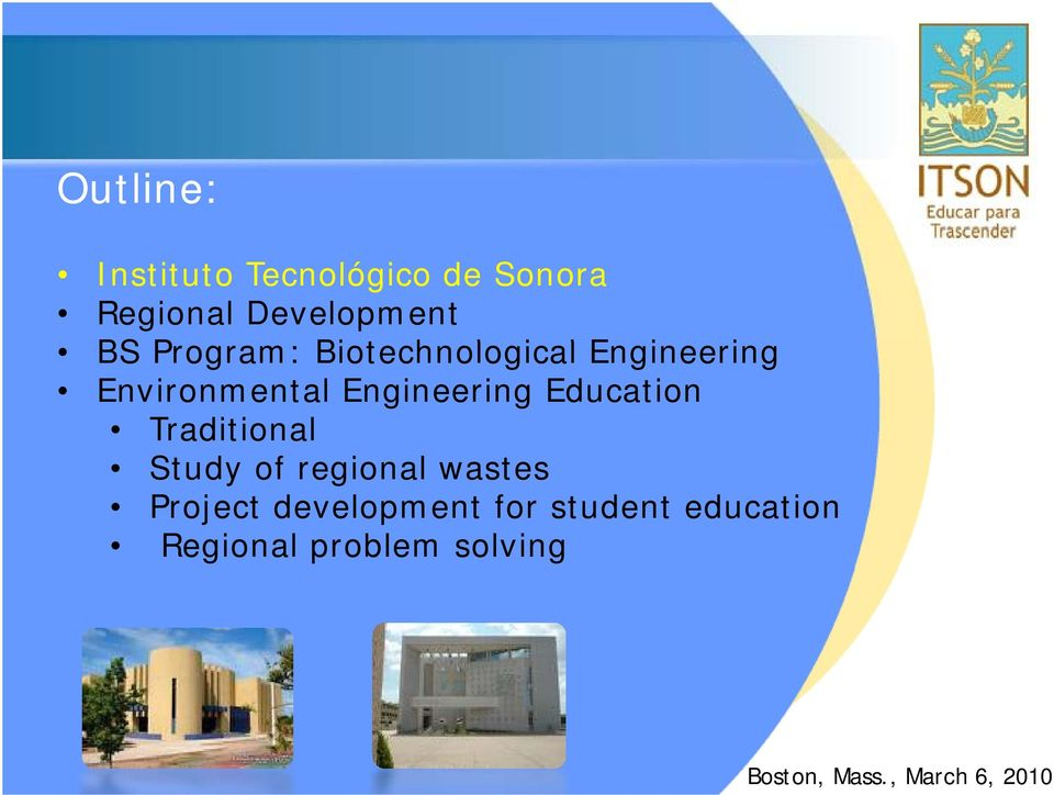 Engineering Education Traditional Study of regional wastes