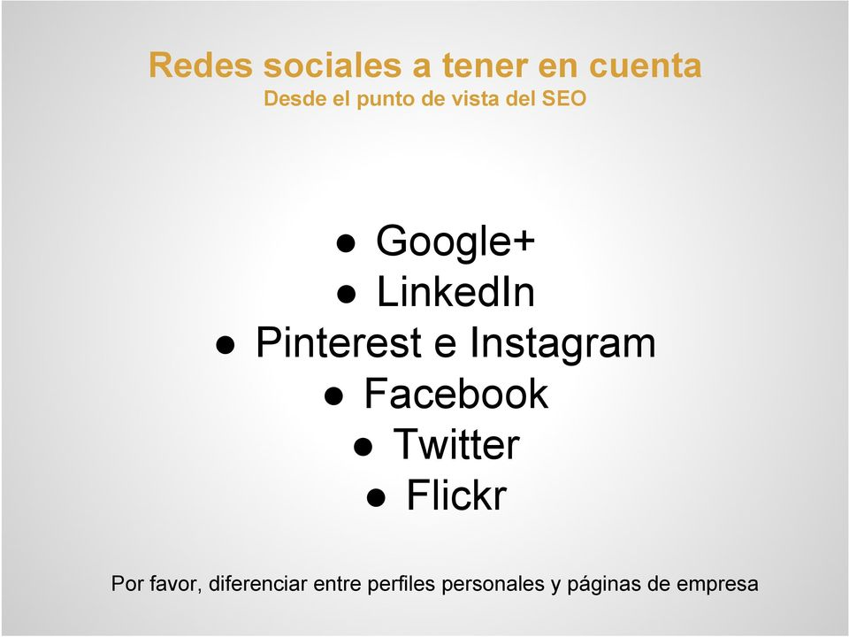 Instagram Facebook Twitter Flickr Por favor,