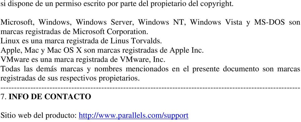 Linux es una marca registrada de Linus Torvalds. Apple, Mac y Mac OS X son marcas registradas de Apple Inc.