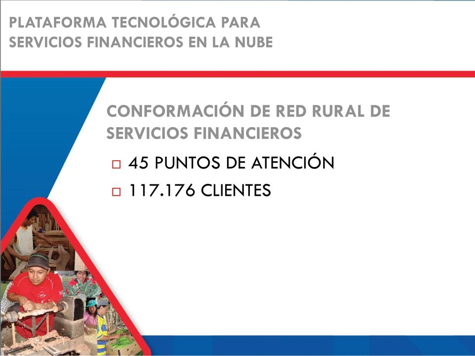 DE RED RURAL DE SERVICIOS FINANCIEROS