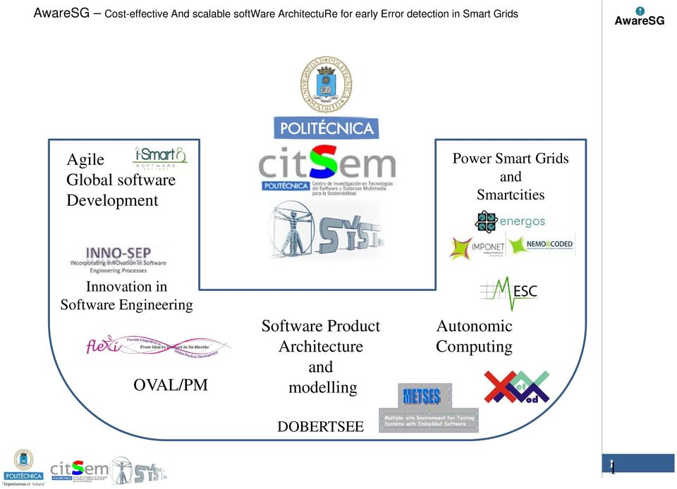 Smart Grids and Smartcities Innovation in Software Engineering
