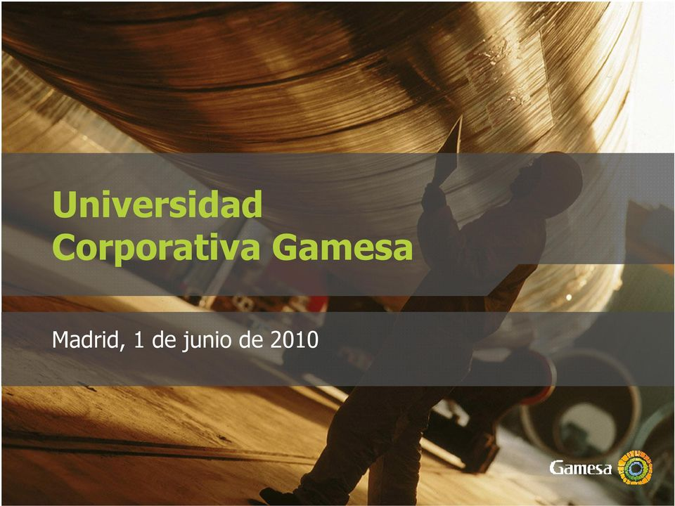 Gamesa Madrid,