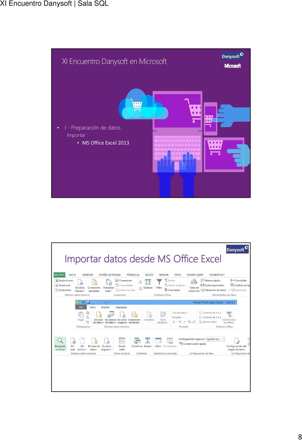 datos Importar MS Office Excel