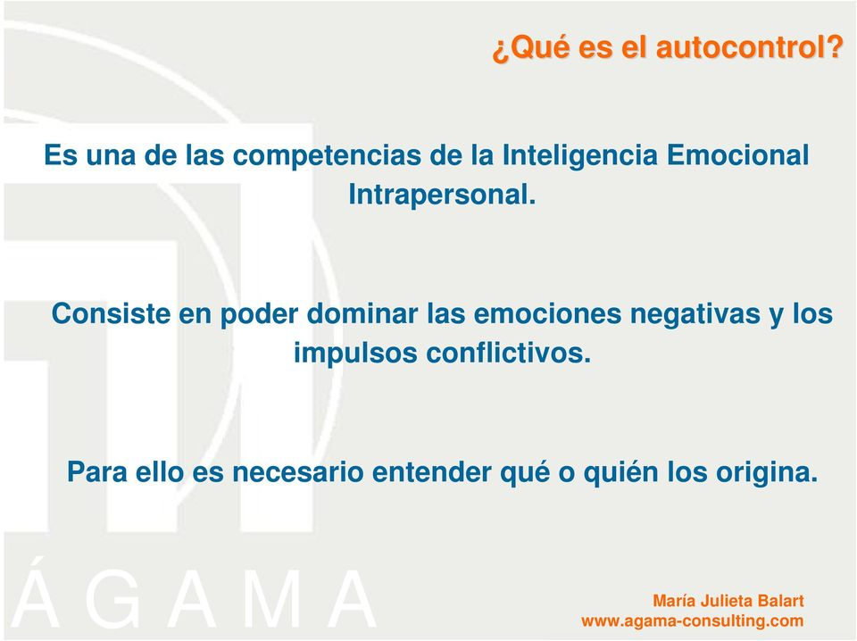 Intrapersonal.
