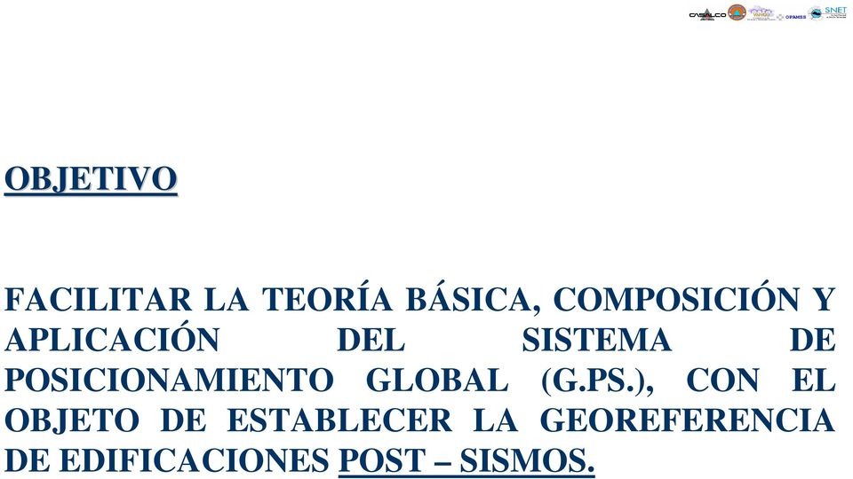 POSICIONAMIENTO GLOBAL (G.PS.