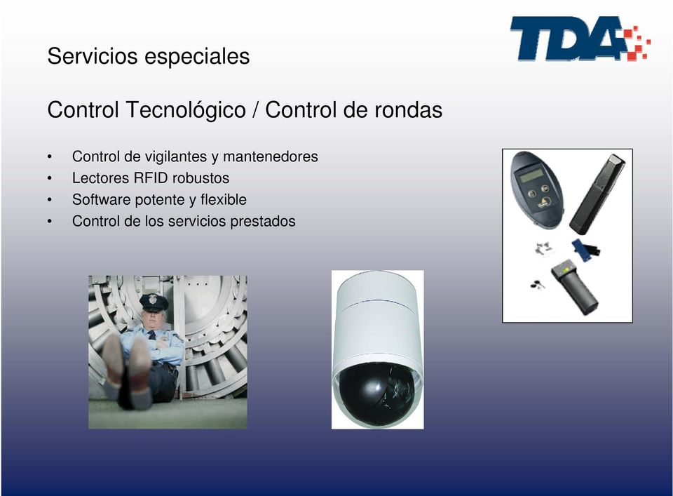mantenedores Lectores RFID robustos Software