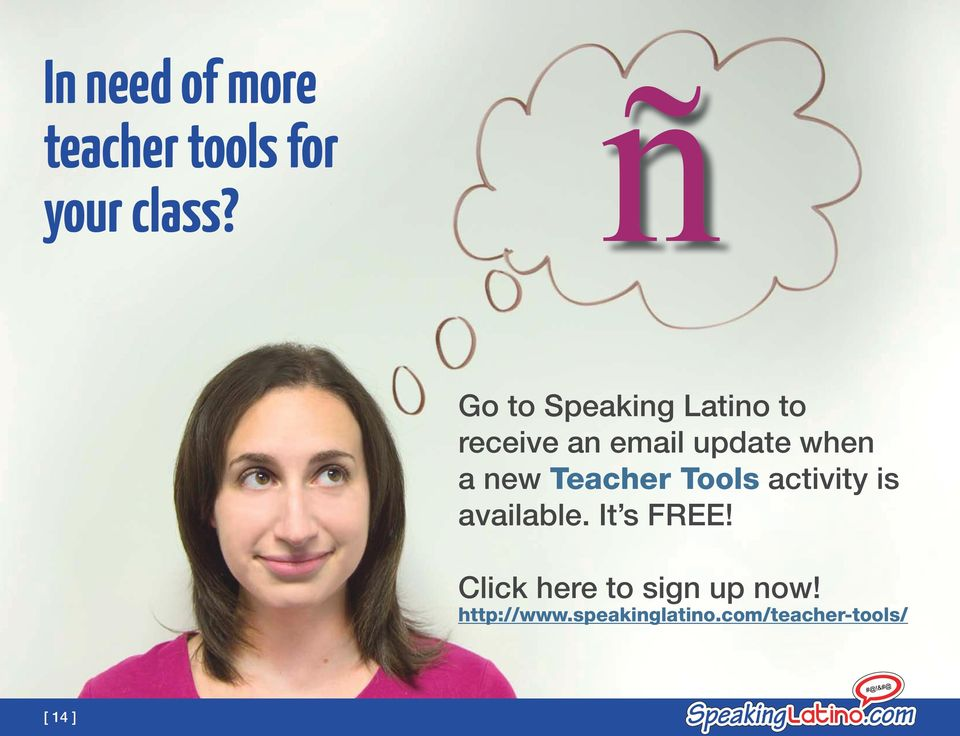 new Teacher Tools activity is available. It s FREE!