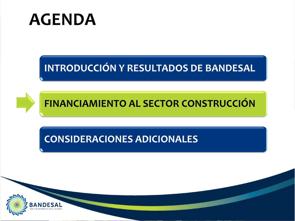 FINANCIAMIENTO AL SECTOR