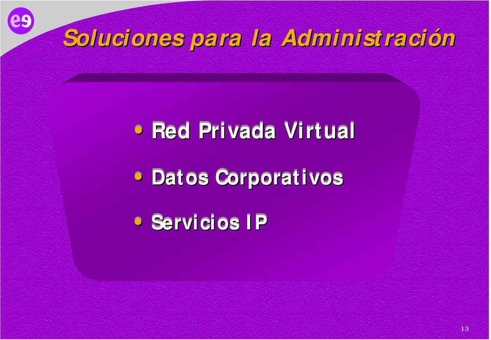 Privada Virtual Datos