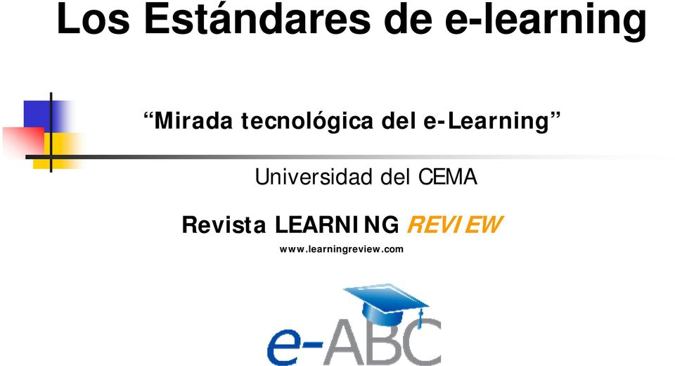 e-learning Universidad del CEMA