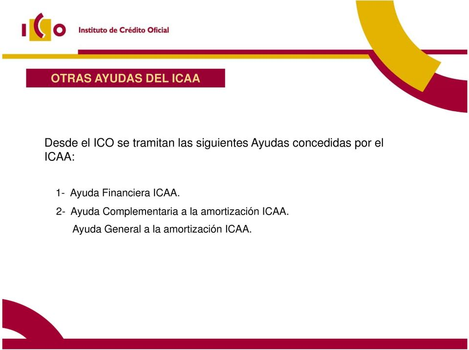 Financiera ICAA.