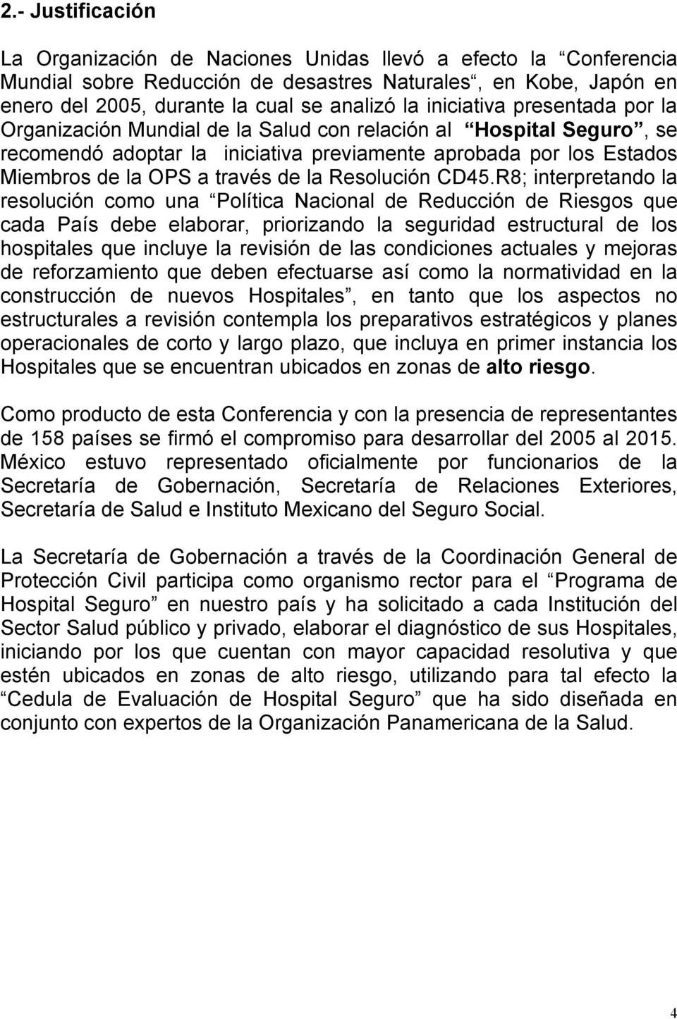 la Resolución CD45.
