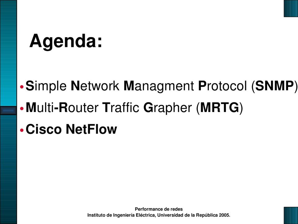 (SNMP) Multi-Router