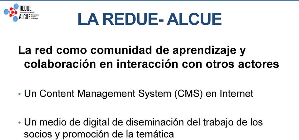 Management System (CMS) en Internet Un medio de digital de