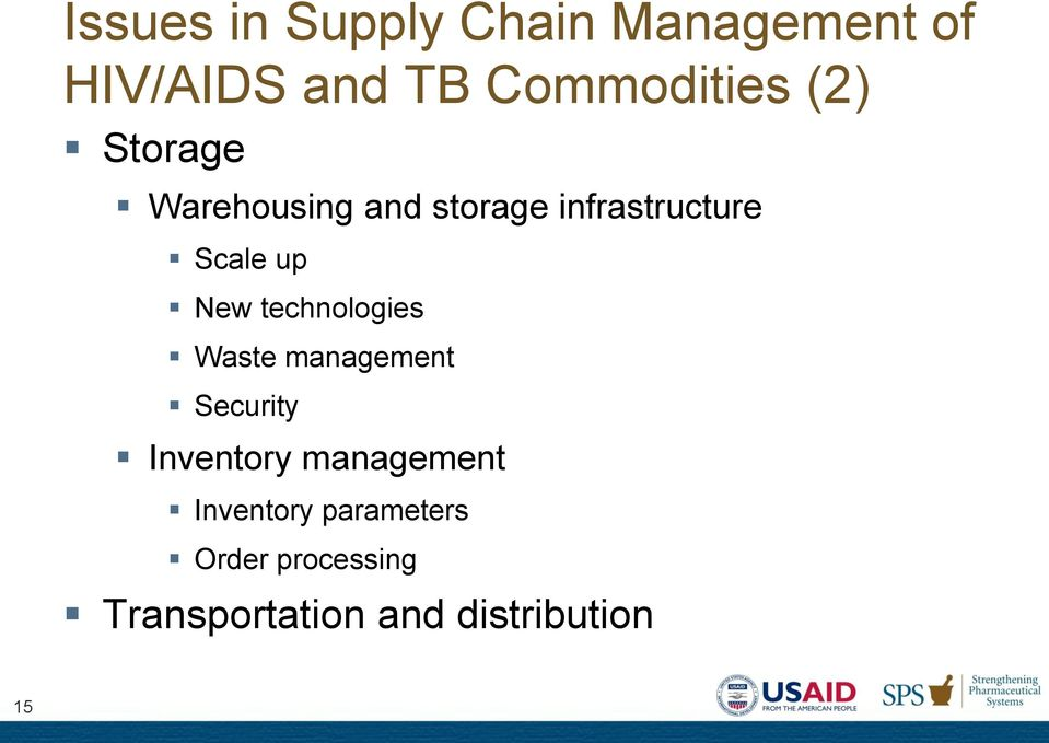 technologies Waste management Security Inventory management