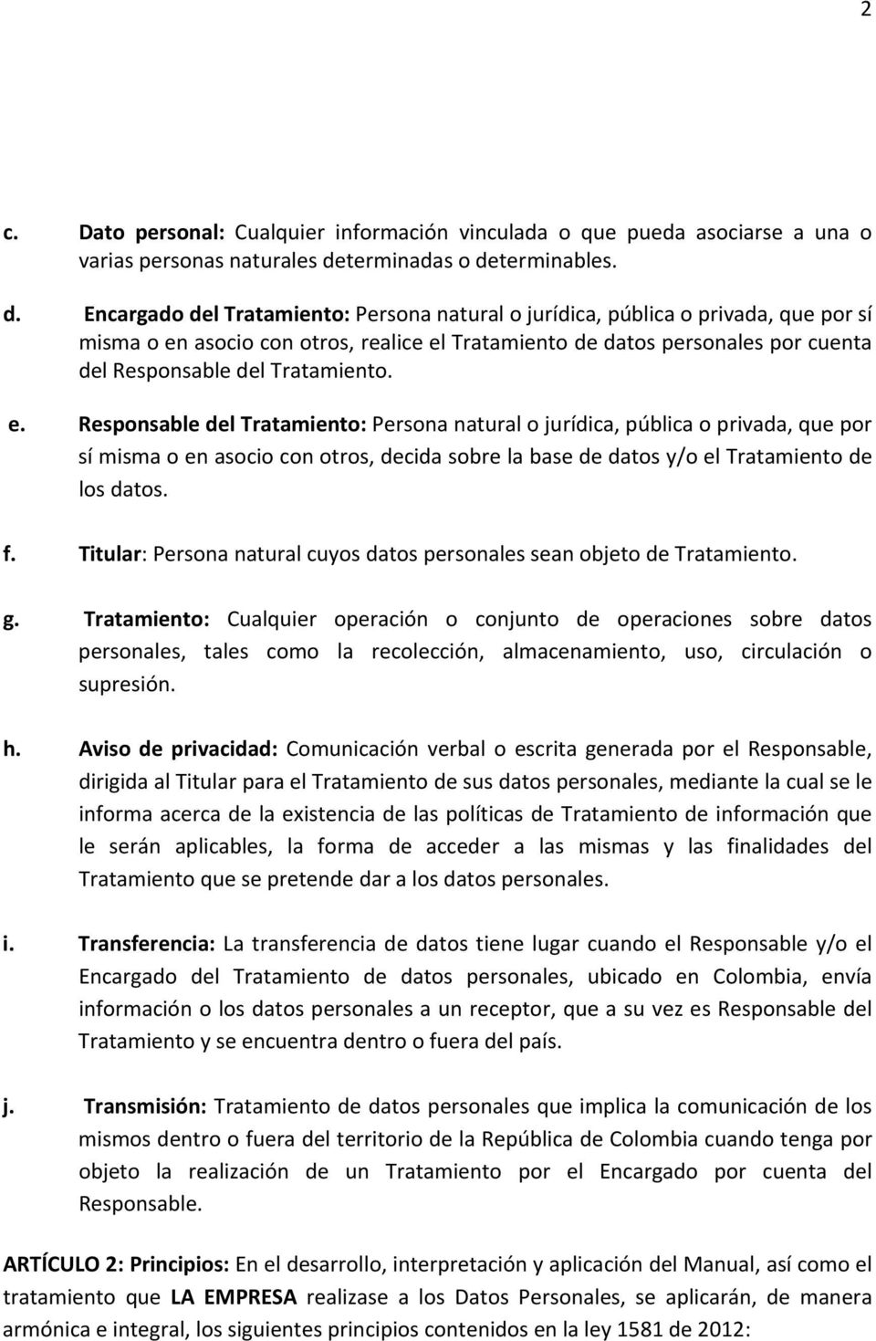 terminables. d.