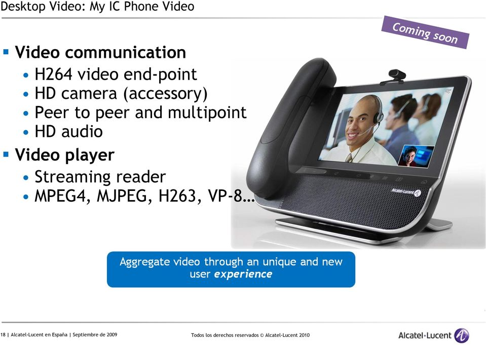 multipoint HD audio Video player Streaming reader MPEG4,