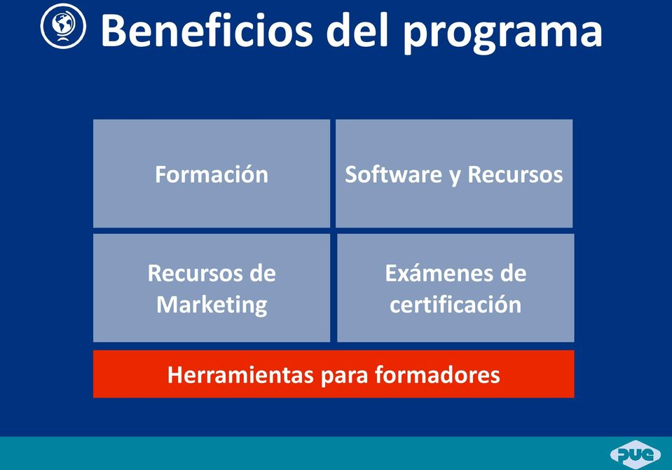 Recursos de Marketing Exámenes