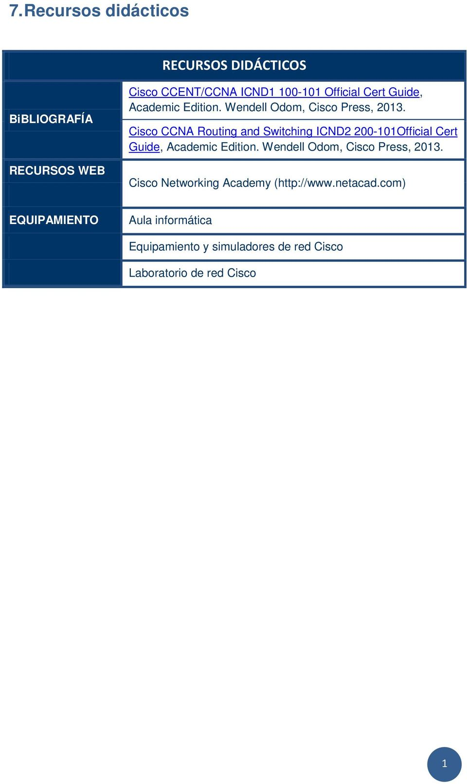 Cisco CCNA Routing and Switching ICND2 200-101Official  Cisco Networking Academy (http://www.netacad.