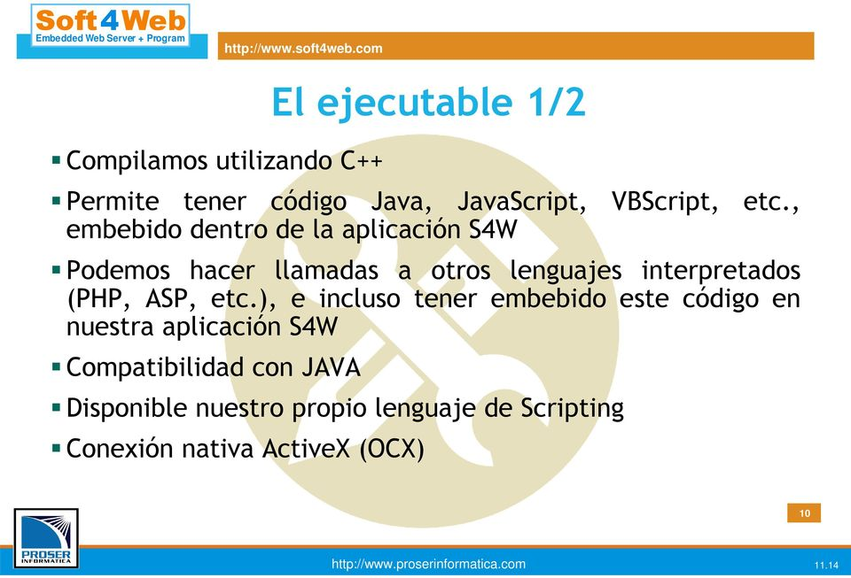 interpretados (PHP, ASP, etc.