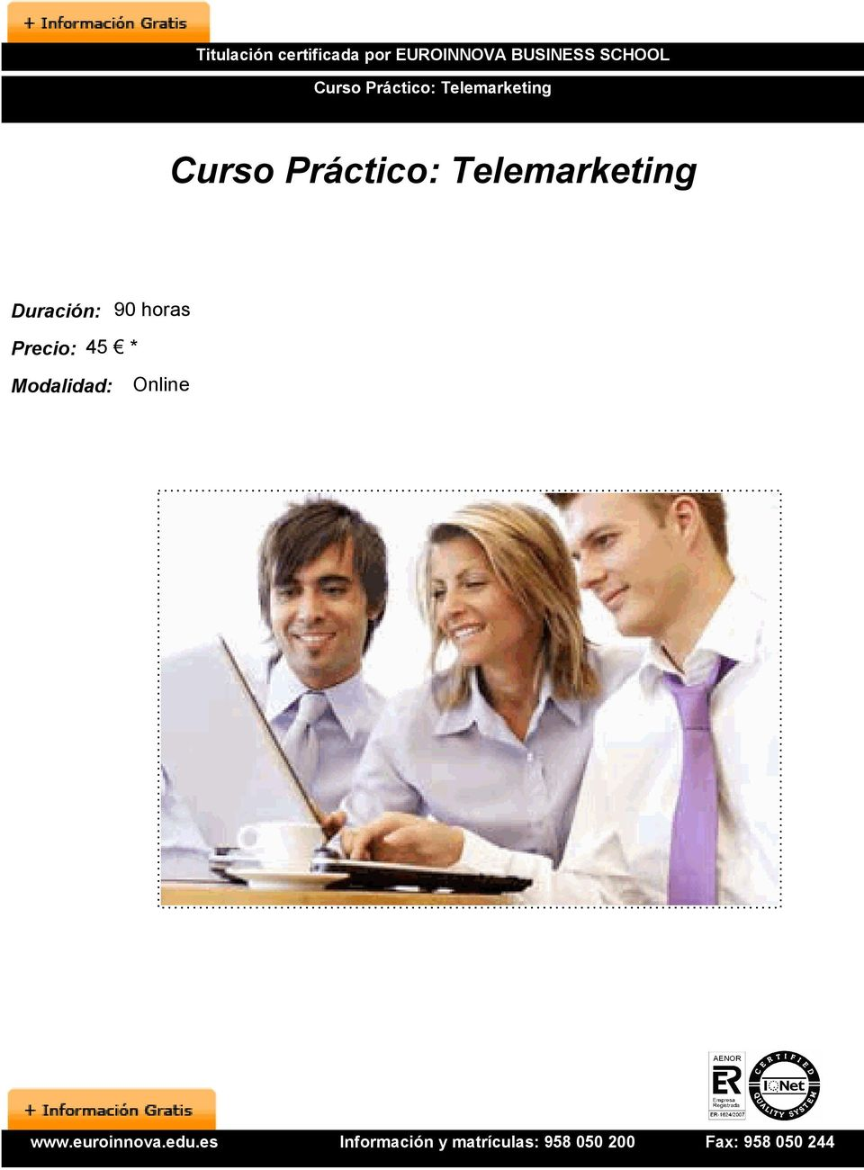 Telemarketing Curso Práctico: