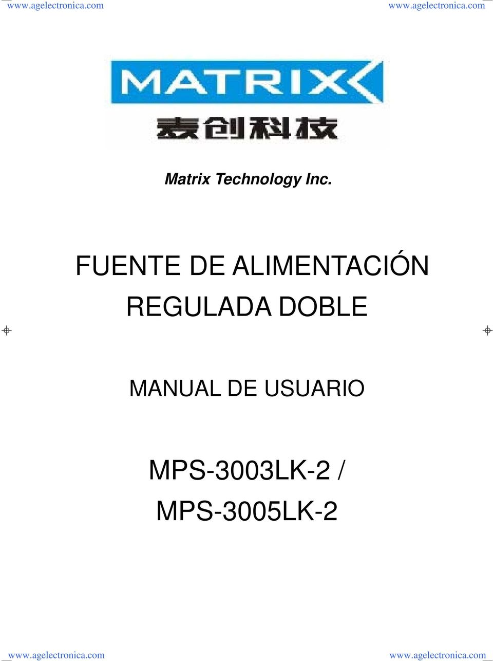 REGULADA DOBLE MANUAL DE