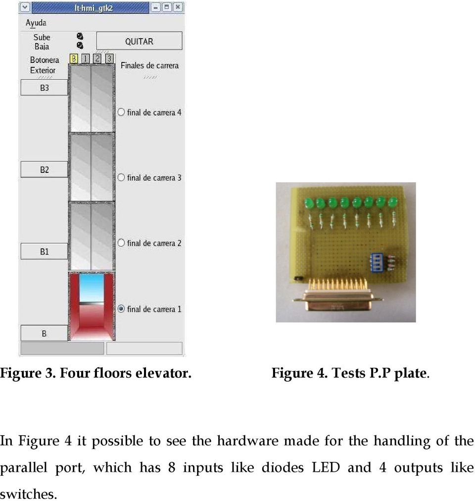 In Figure 4 it possible to see the hardware made for