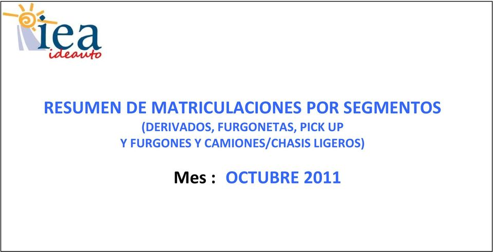 FURGONETAS, PICK UP Y FURGONES Y