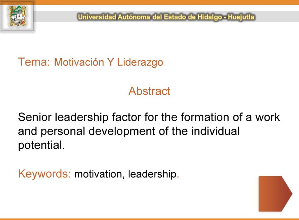work and personal development of the