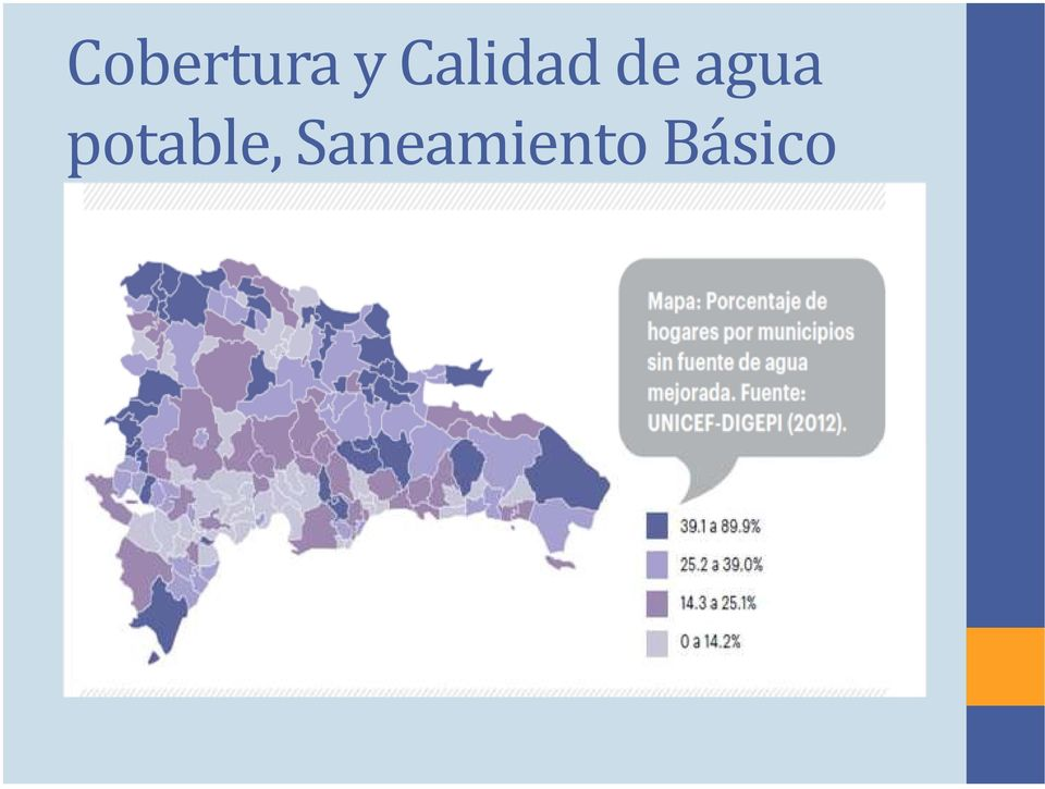 agua potable,