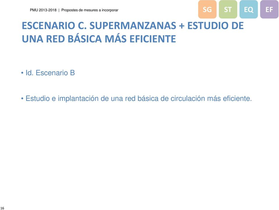 SUPERMANZANAS + ESTUDIO DE UNA RED BÁSICA MÁS