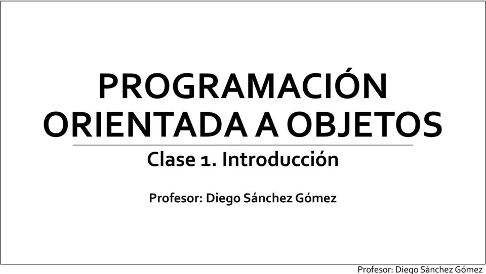 Clase 1.