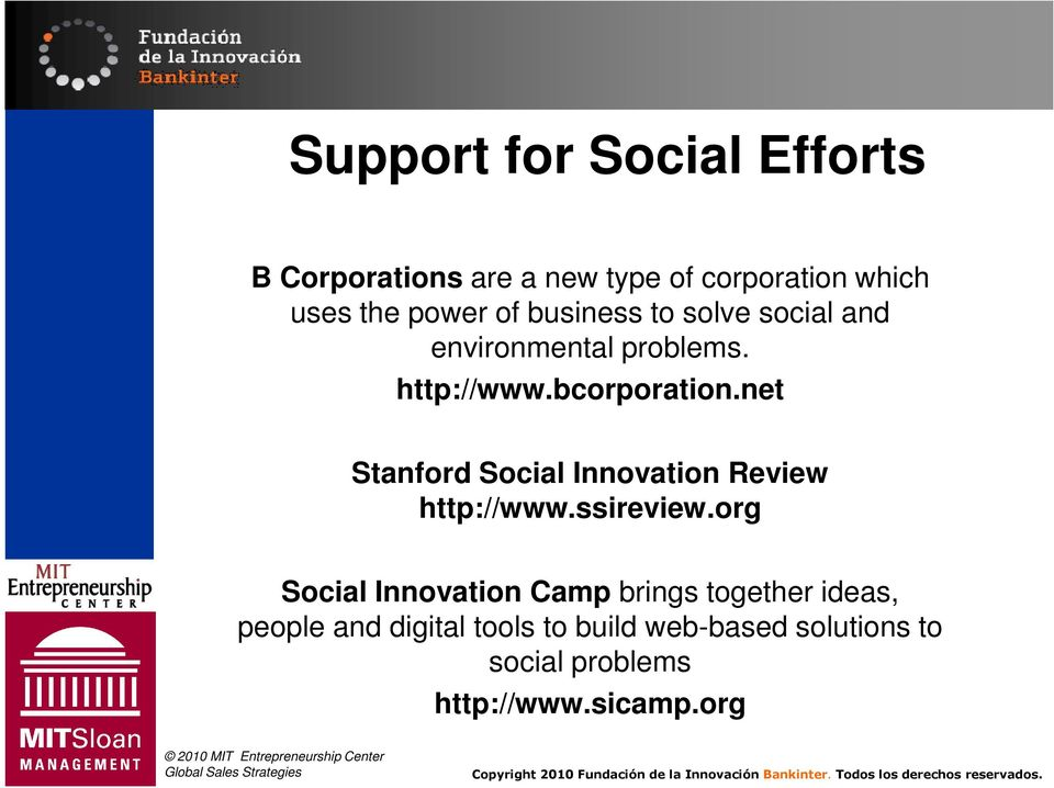 net Stanford Social Innovation Review http://www.ssireview.
