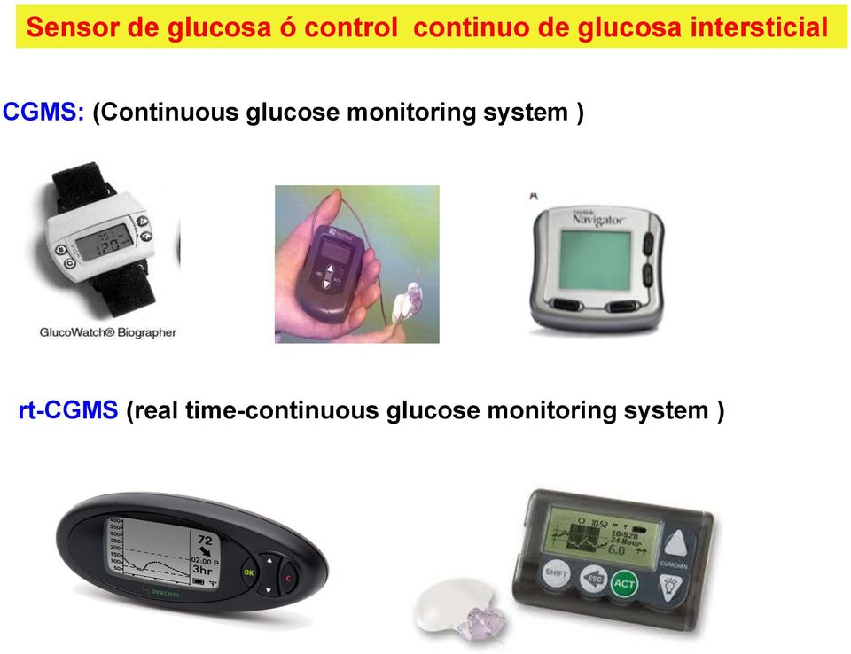 glucose monitoring system ) rt-cgms