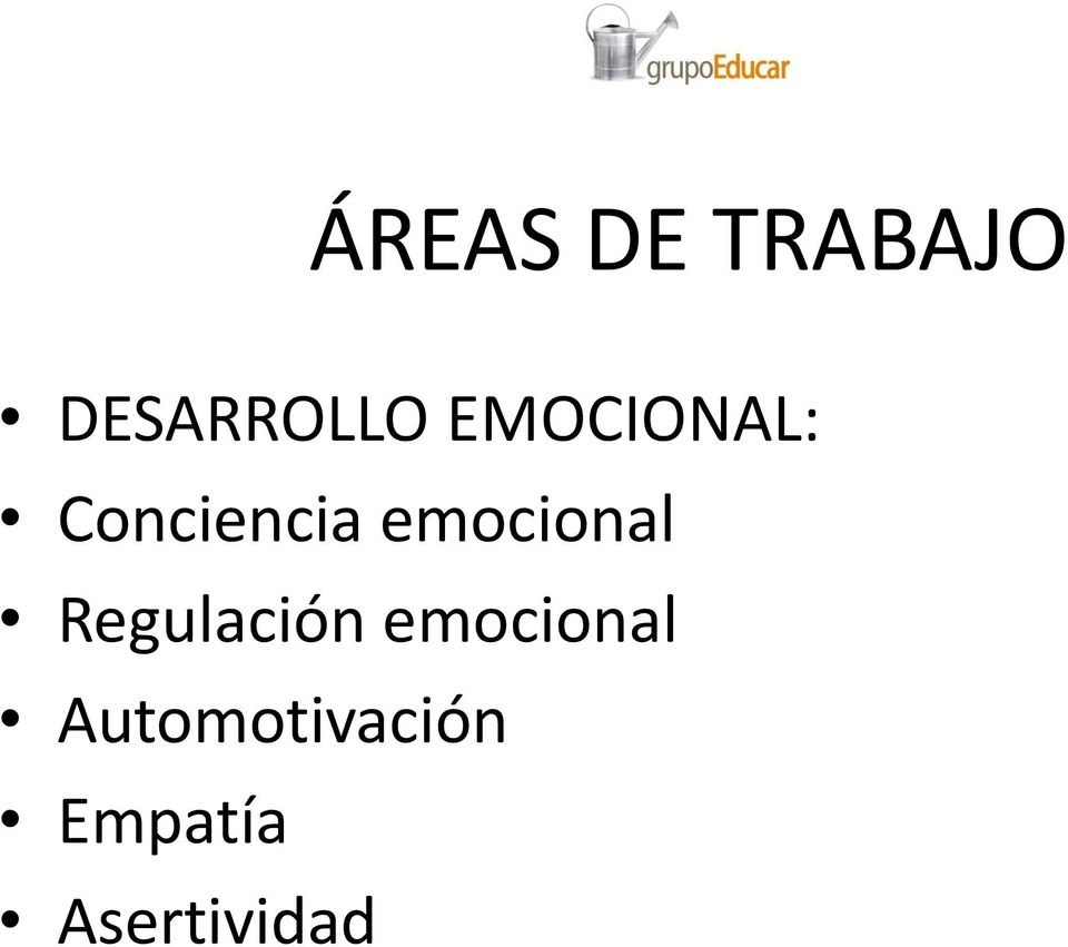 emocional Regulación
