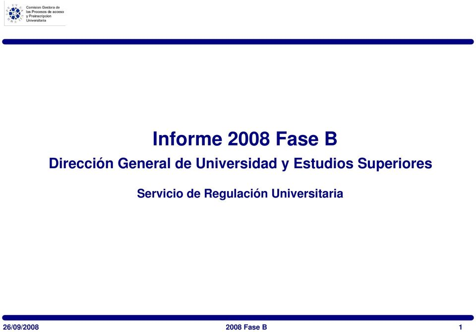 Superiores Servicio de Regulación