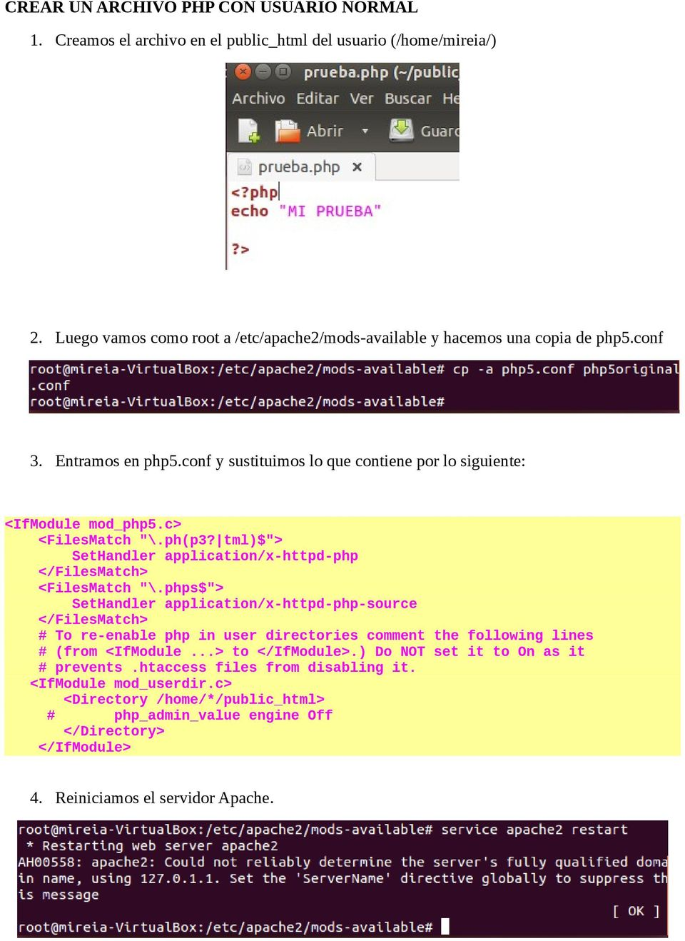 "tml)$""> SetHandler application/x-httpd-php </FilesMatch> <FilesMatch ""\."