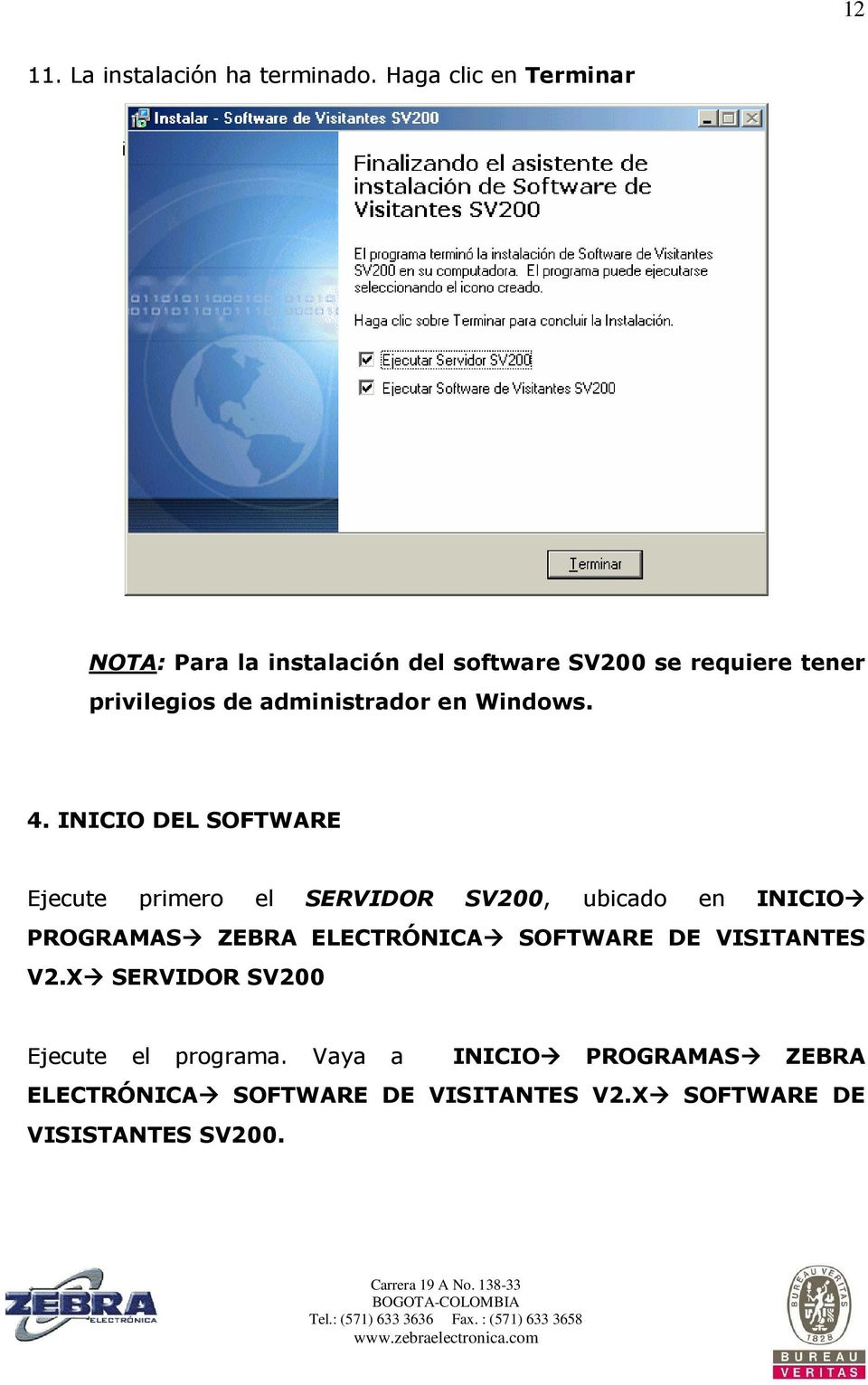 administrador en Windows. 4.