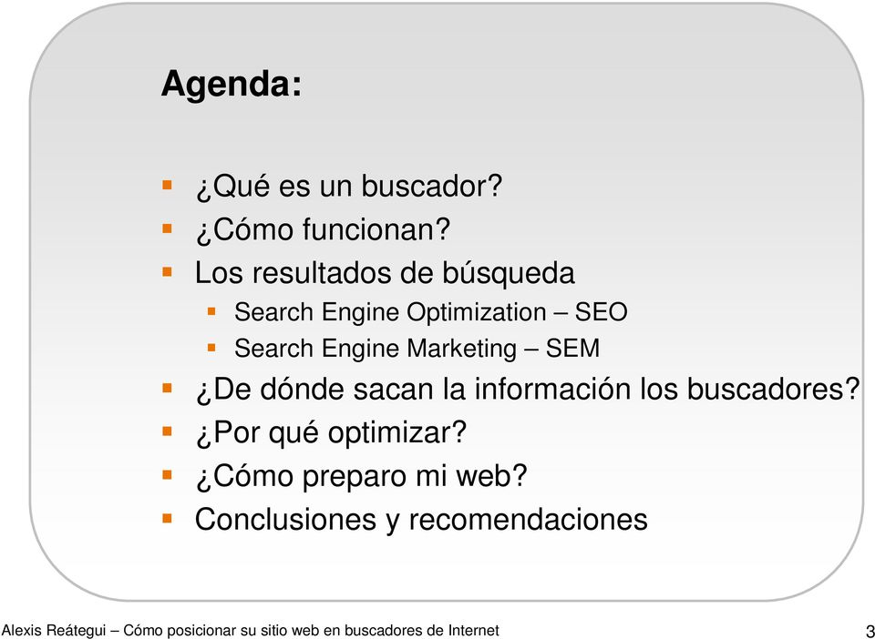 Search Engine Marketing SEM De dónde sacan la información los
